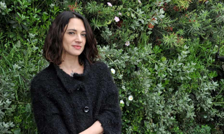Asia Argento … fell out with Rain Dove.