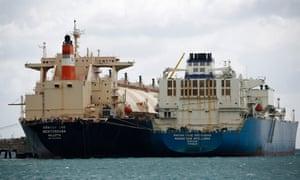 Tankers Maran Gas Apollonia and Armada LNG Mediterrana