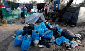 Conditions in the camp are deteriorating as more people arrive.