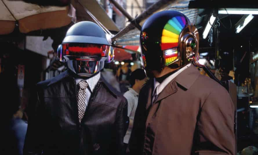 Daft Punk in 2002.