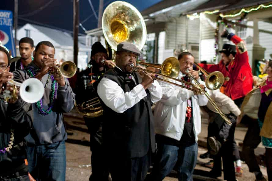 Enter a world of second line parades and gumbo … Treme.