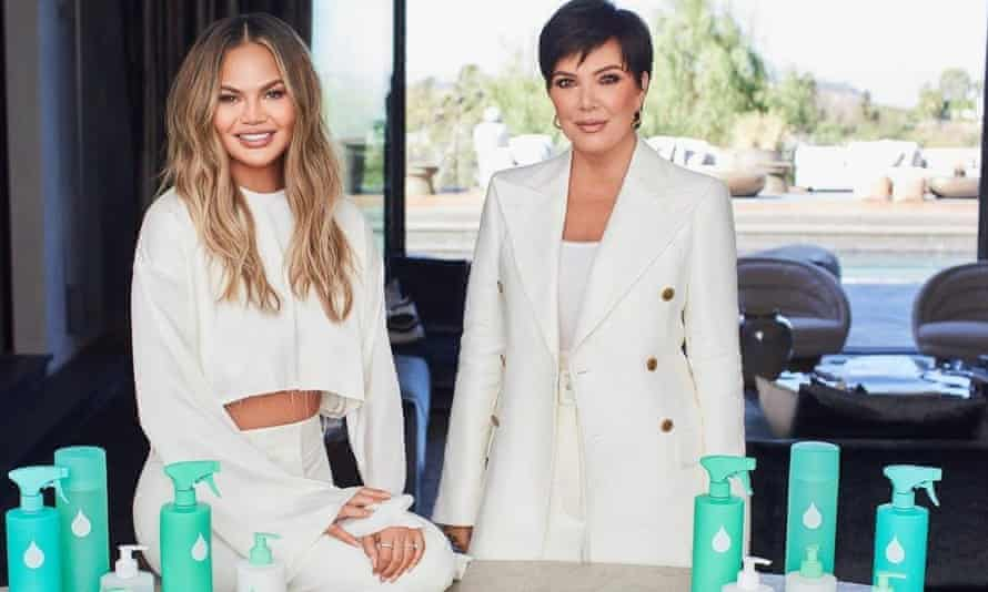 Chrissy Teigen and Kris Jenner have just launched their Safely plant-based cleaning range.
