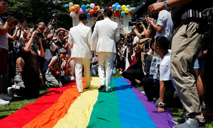 Taiwan's marriage law brings frustration and hope for LGBT