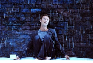 Jude Law as Hamlet in the Donmar's West End season in 2009, directed by Michael Grandage