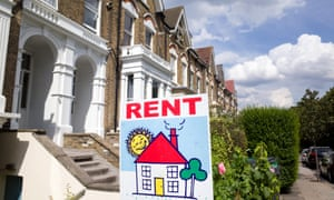 For rent sign, London, England
