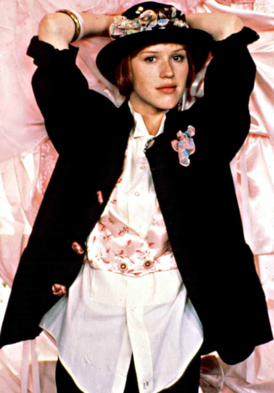 Left of centre: Molly Ringwald as Andie Walsh.