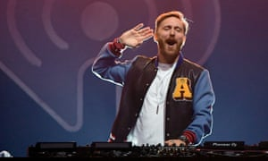 Mix master … Parisian DJ/producer David Guetta pioneered the crossover between pop, R&B and house.