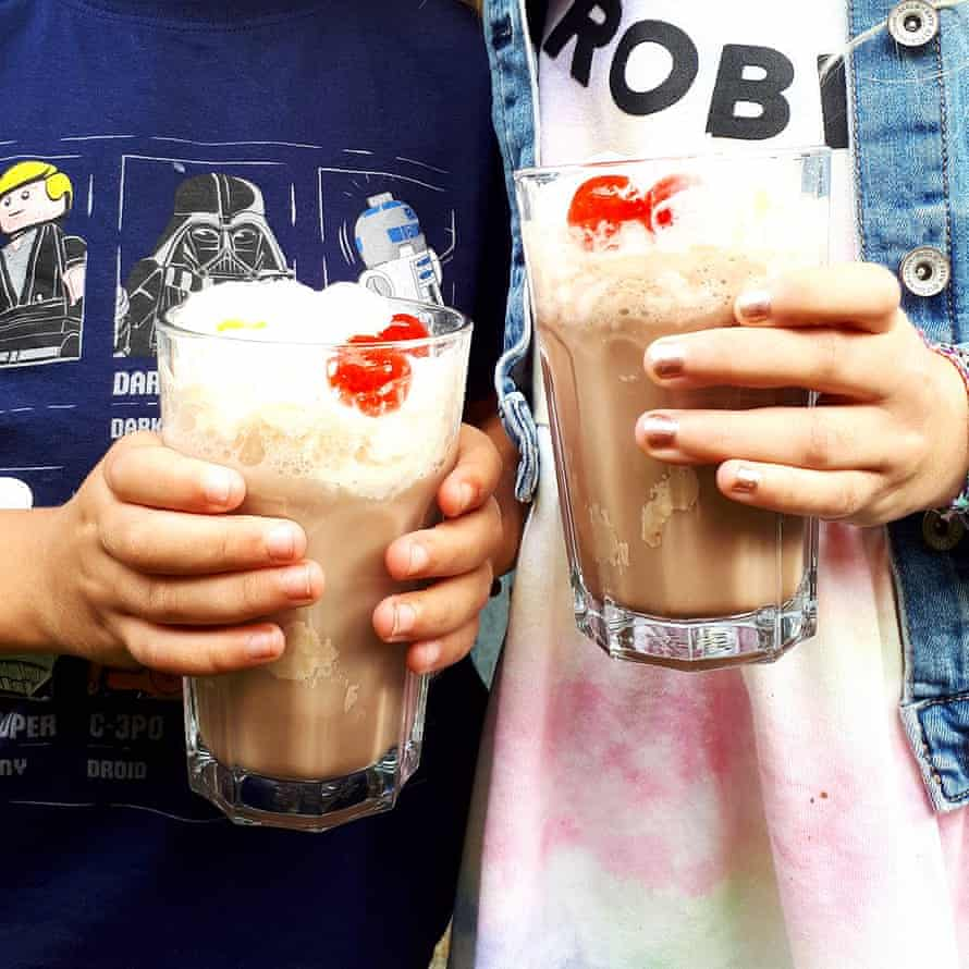 Ice cream floats from Agatha Christie's Crooked House