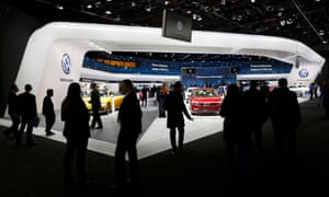 The Detroit auto show, where today's reality will be on display.