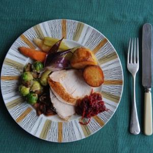 Christmas dinner, Delia style.