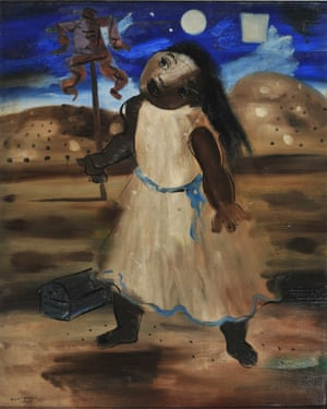 Sinister power … The Half-Wit Boba by Cândido Portinari, also part of The Art of Diplomacy.