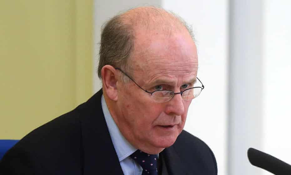 Sir Anthony Hart, chairman of the historical institutional abuse inquiry