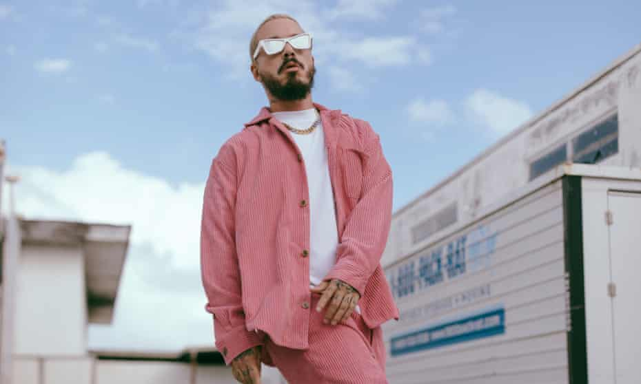'His ability to break cultural boundaries isn't really matched by a desire to smash artistic ones' ... J Balvin.
