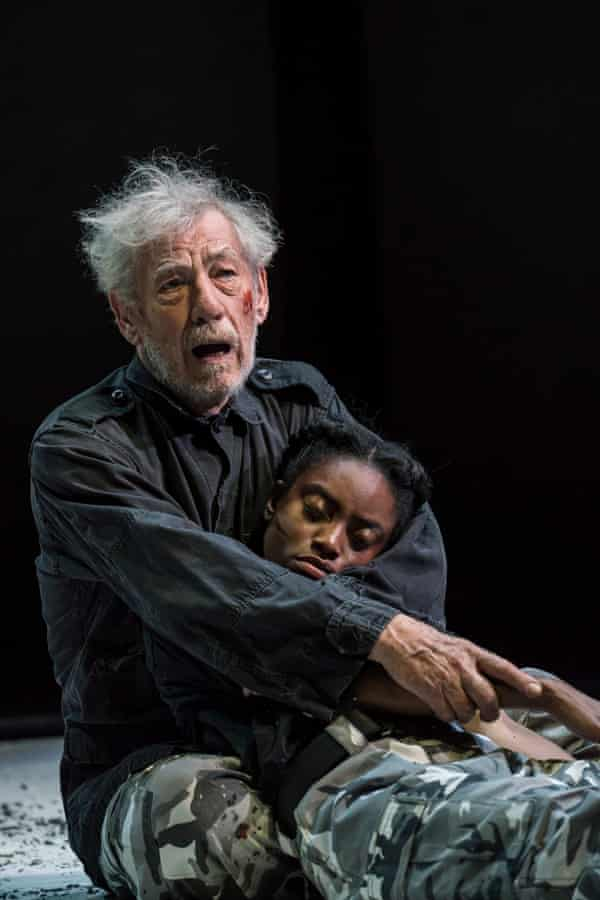 McKellen plays Lear with a naturalism that initially seems risky.