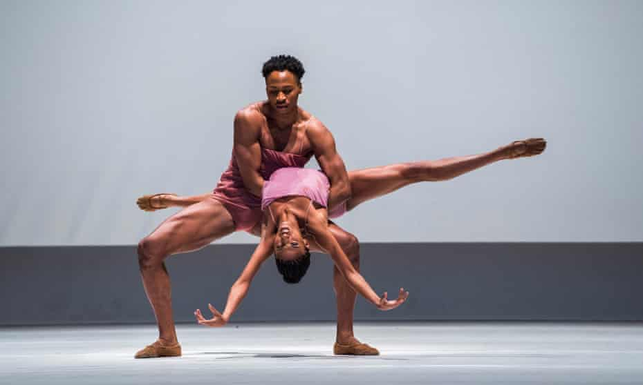 Jacqueline Green and Jeroboam Bozeman of the Alvin Ailey company join the Royal Ballet for Wayne McGregor's Chroma.