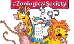 Animated animals ... illustration by Tim Wheatley of Zoological Society, music and lyrics by Vikki Stone
