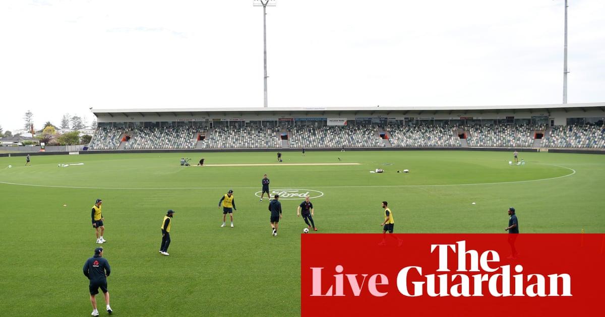 New Zealand v England: fourth T20 international –live!