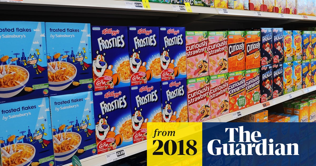 High sugar content in cereals next target in battle of child