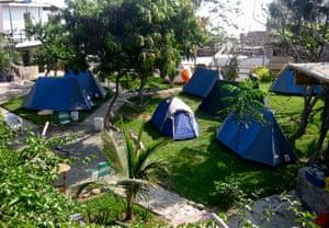 Peru Naylamp hostel camping