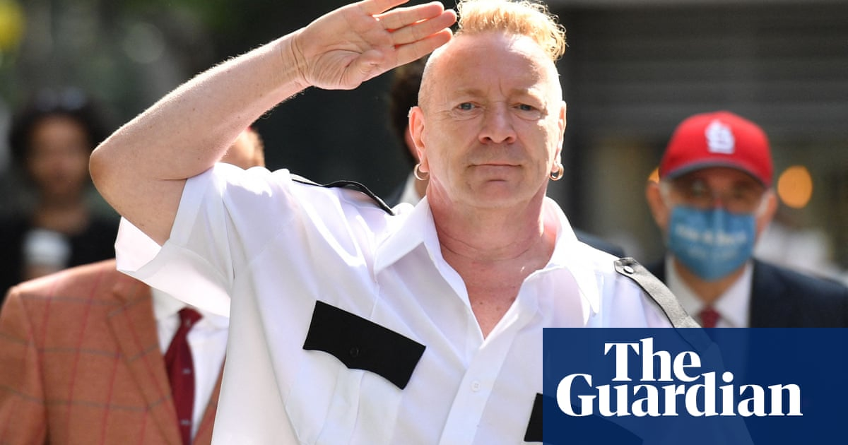 Sex Pistols win legal fight against Johnny Rotten over songs