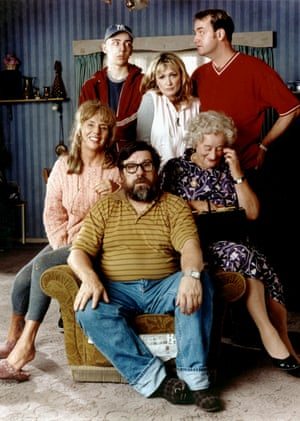 The Royle Family cast in 1998