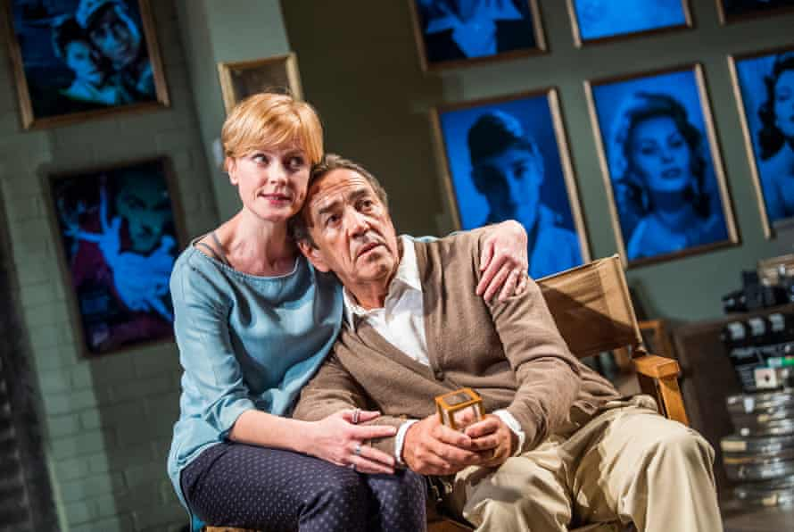 Disordered dreams … Claire Skinner and Robert Lindsay in Prism.