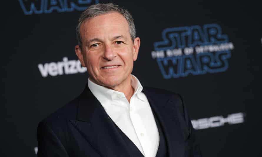 Disney's chief executive, Bob Iger, at the premiere of Star Wars: The Rise of Skywalker in Los Angeles.