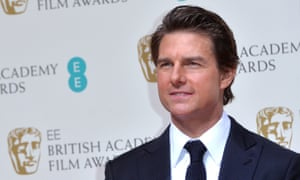 Wanting his mummy? Tom Cruise at the Baftas in London.