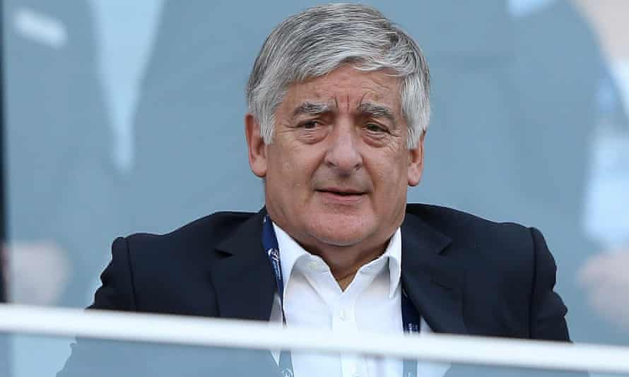 David Bernstein, pictured in 2013 during his time at the FA chairman.