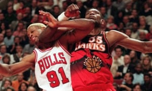 If only Dikembe Mutombo had rejected these Atlanta Hawks jerseys, life in the NBA would've been more visually pleasing.