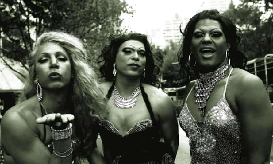 Sister Girls stylin' up at 2013 Sydney Mardi Gras.