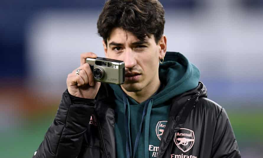 Arsenal's Héctor Bellerín says his interest in photography was 'like one of my companions throughout my injury, It brought me brought me a lot of happiness.'