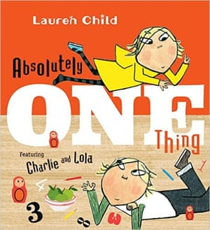 "<strong>Charlie and Lola: </strong><a href=""https://bookshop.theguardian.com/catalog/product/view/id/342641/""><strong>One Thing</strong></a><strong> by Lauren Child </strong>(Orchard, £11.99)<br>Charlie and Lola make counting into a playful, free-flowing activity in this busy book that gallops through numbers from one to billions. From the moment Mum offers Charlie and Lola ""one thing"" from the shop, they can't stop counting. Lola counts the dots on her dress (12) and the number of ducks following her (three, until she drops some biscuit crumbs and it becomes ""THREE ducks, SEVEN pigeons, FIVE wading birds, FOUR swans, TWO geese and ONE flapping bird""). (5+)"