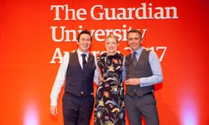 Cardiff University won the Sustainability project award. Scientists at the university are playing their part in protecting bees by working towards becoming the first bee-friendly university in Wales. The university is creating a habitat that benefits all urban pollinators and, by planting certain wildflowers whose nectar is present in antibacterial honey, it is also searching for a solution to antimicrobial resistance.
