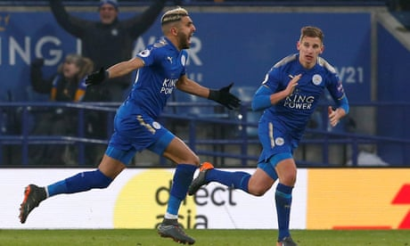 Riyad Mahrez's late stunner snatches Leicester draw against Bournemouth
