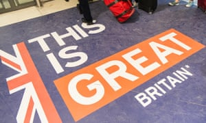 Passport control UK border crossing at Gare du Nord