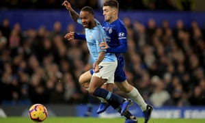 Raheem Sterling (left) has spoken out about differing media treatment of two of his Manchester City teammates, one black, one white.