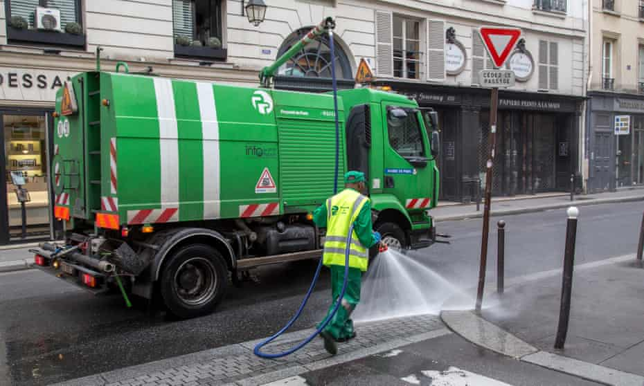Last year's budget funded upgrades to cleaning facilities in the city.