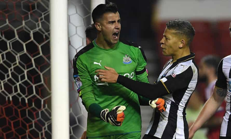 Newcastle's Karl Darlow is a target for Middlesbrough, Aston Villa and Reading.