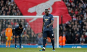 Romelu Lukaku missed two golden chances to score on a frustrating day for Manchester United.