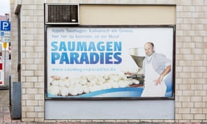 The popular Saumagen Paradies (Pig Stomach Paradise) butchers in Kallstadt.