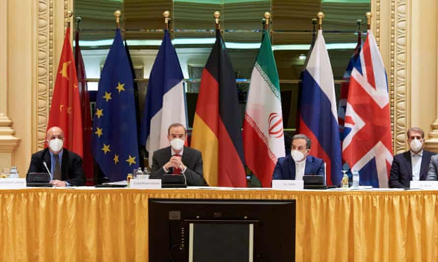 Delegates to the Iran nuclear talks in Vienna
