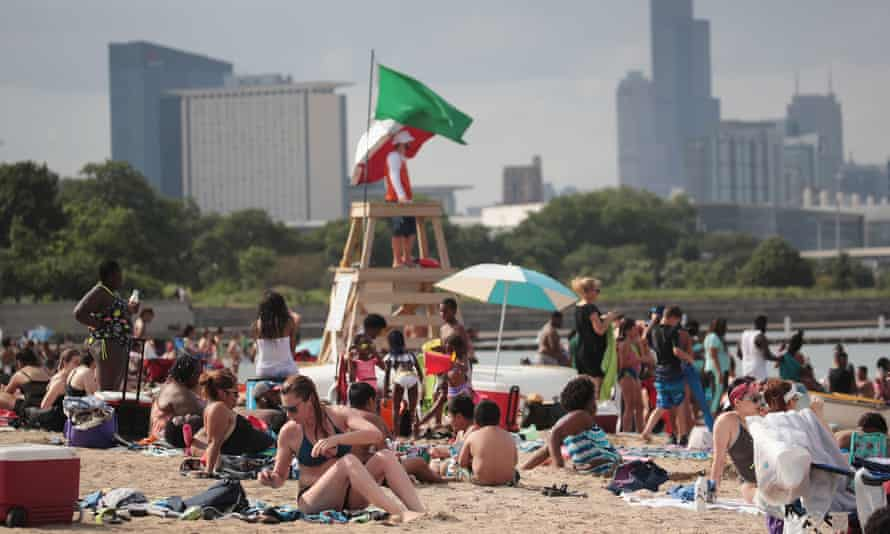 Beaches in Illinois were among the worst-offending in the study.