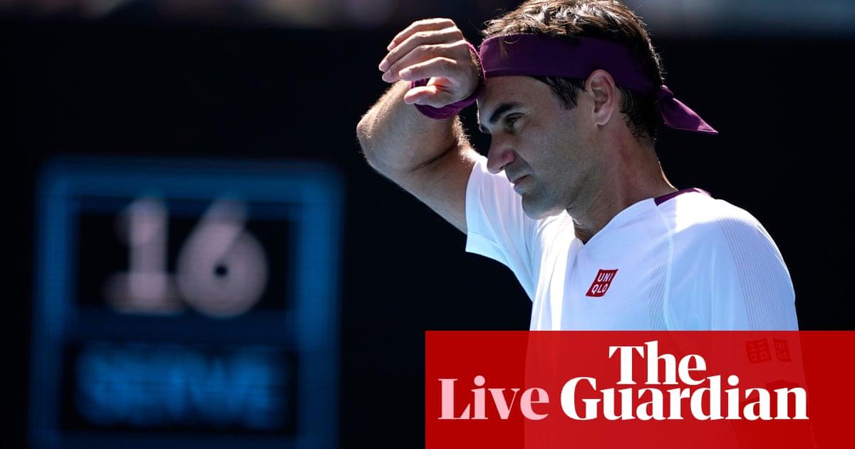 Australian Open day nine: Federer v Sandgren, Barty beats Kvitová – live!
