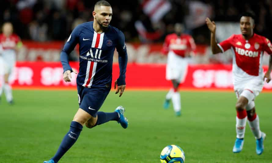 Layvin Kurzawa has been at PSG for five years.