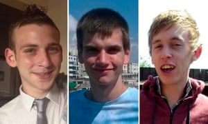 Jack Taylor, Daniel Whitworth, Anthony Walgate, three of the alleged victims.
