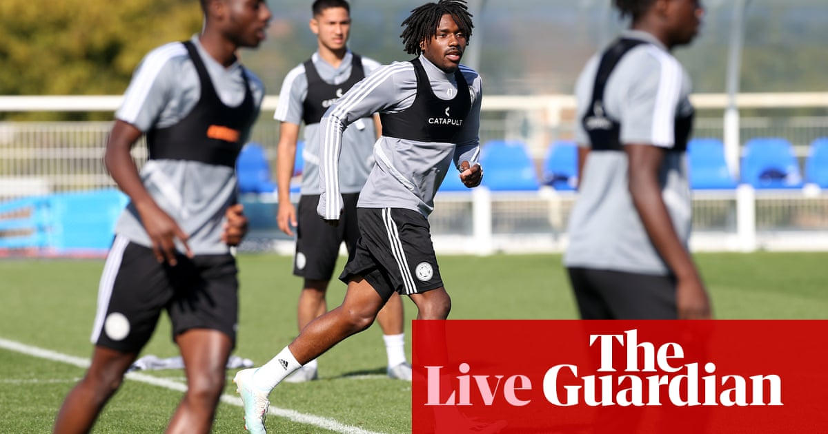 Premier League team news, injury updates and more –live!