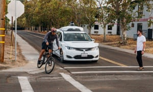 Waymo subjected its cars to 'structured testing', presenting them with obstacles.