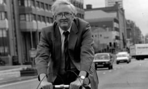John Sully was an advocate for cycling and walking.