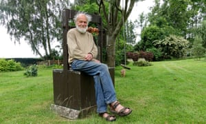 Walter Schwarz at his home in Abberton, near Colchester, Essex. He was one of the first British journalists to take environmentalism seriously.